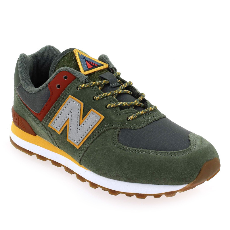 basket new balance 574 kaki