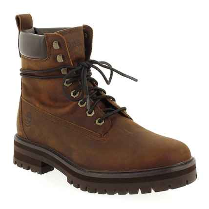 Chaussure Timberland modèle COURMA GUY BOOT WP, Cognac - vue 0