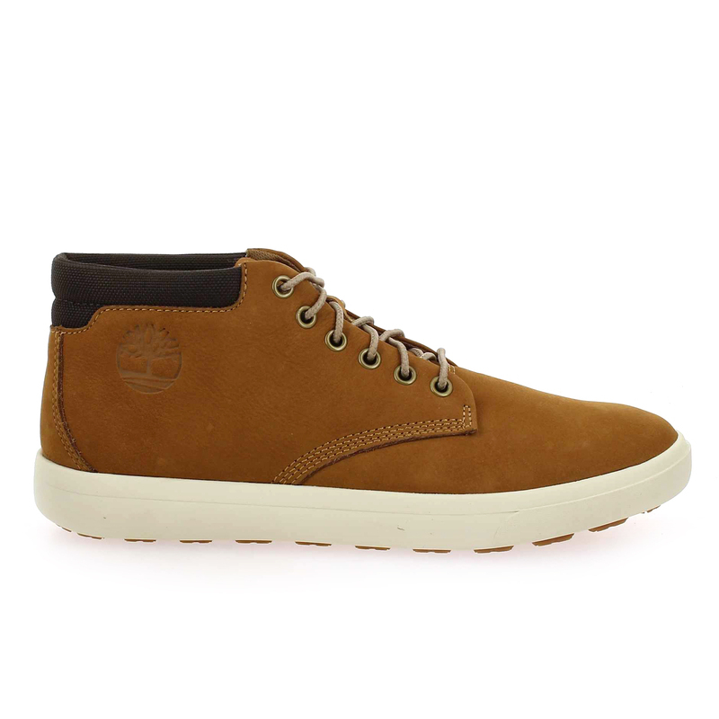 Chaussure Timberland ASHWOOD PARK LEATHER CHUKKA camel couleur Camel - vue 1