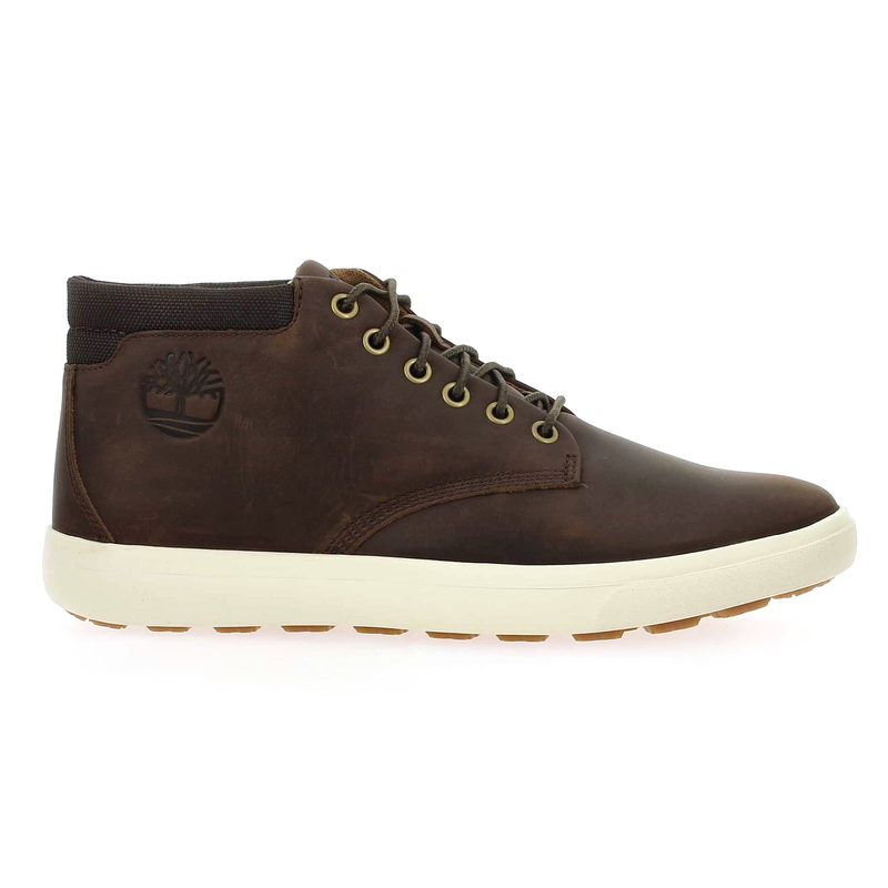 Chaussure Timberland ASHWOOD PARK LEATHER CHUKKA marron couleur Marron - vue 1