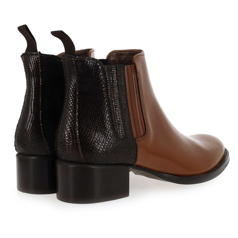 Camel Muratti Cuir Amelys Chaussure Boots 6090001 Pour Femme 7xOEwE