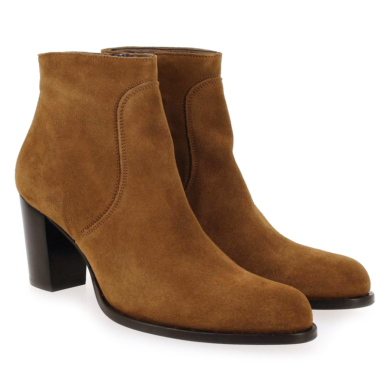 Boots Muratti Chaussure 6090401 Pour Camel Amicie Velours Femme Cuir WzO6nWY