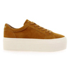 Chaussure No Name modèle SPICE SNEAKER GOAT SUEDE, Moutarde - vue 1