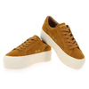 Chaussure No Name modèle SPICE SNEAKER GOAT SUEDE, Moutarde - vue 2