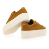 Chaussure No Name modèle SPICE SNEAKER GOAT SUEDE, Moutarde - vue 3