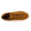 Chaussure No Name modèle SPICE SNEAKER GOAT SUEDE, Moutarde - vue 4