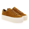 Chaussure No Name modèle SPICE SNEAKER GOAT SUEDE, Moutarde - vue 5