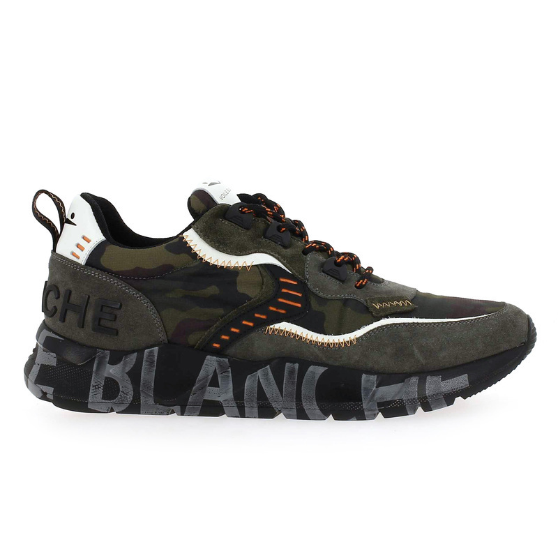 Chaussure Voile Blanche CLUBO vert couleur Kaki Camouflage - vue 1
