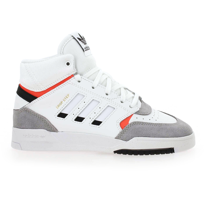 Chaussure Adidas Originals DROP STEP C blanc couleur Blanc Rouge - vue 1