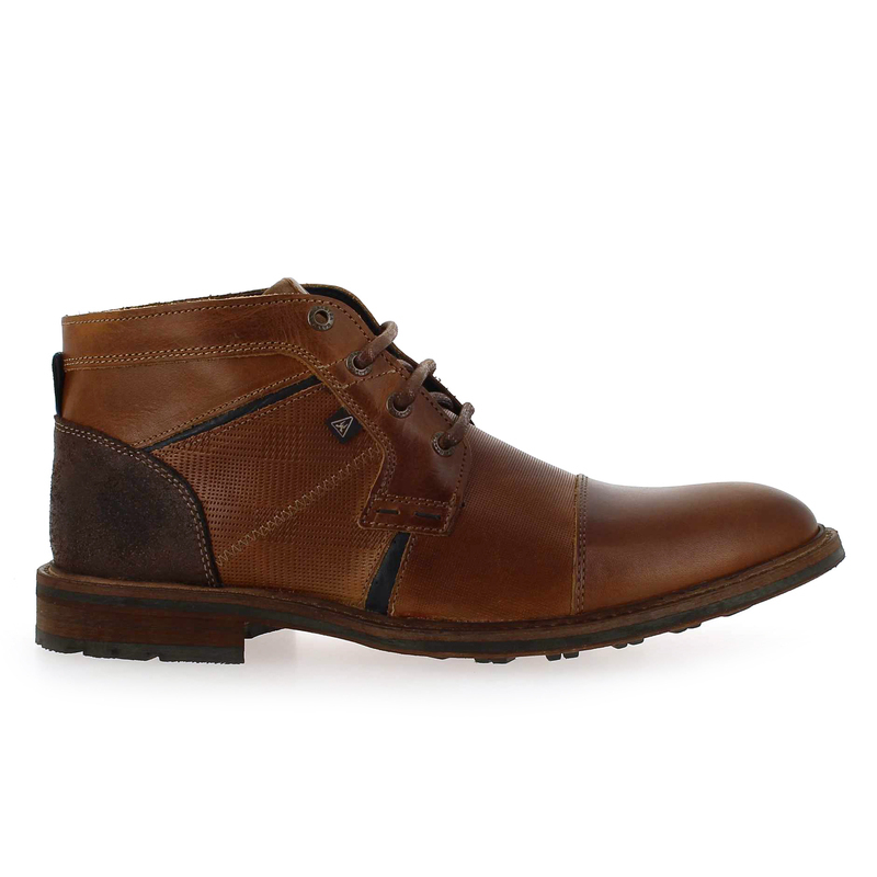 Chaussure Gaastra CREW MID camel couleur Cognac - vue 1