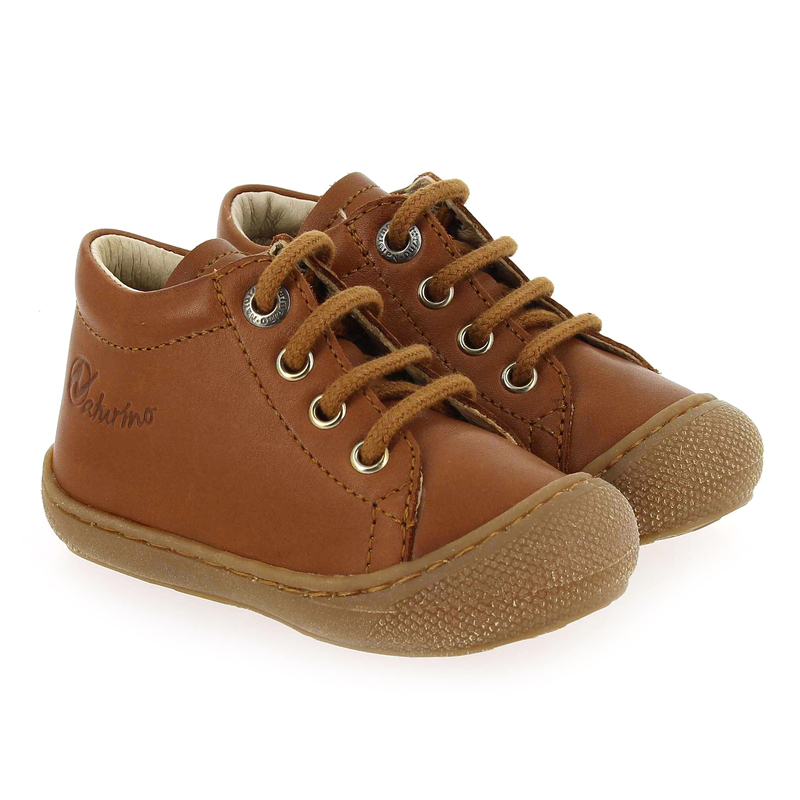 Chaussure Falcotto by Naturino COCOON camel couleur Cognac - vue 0