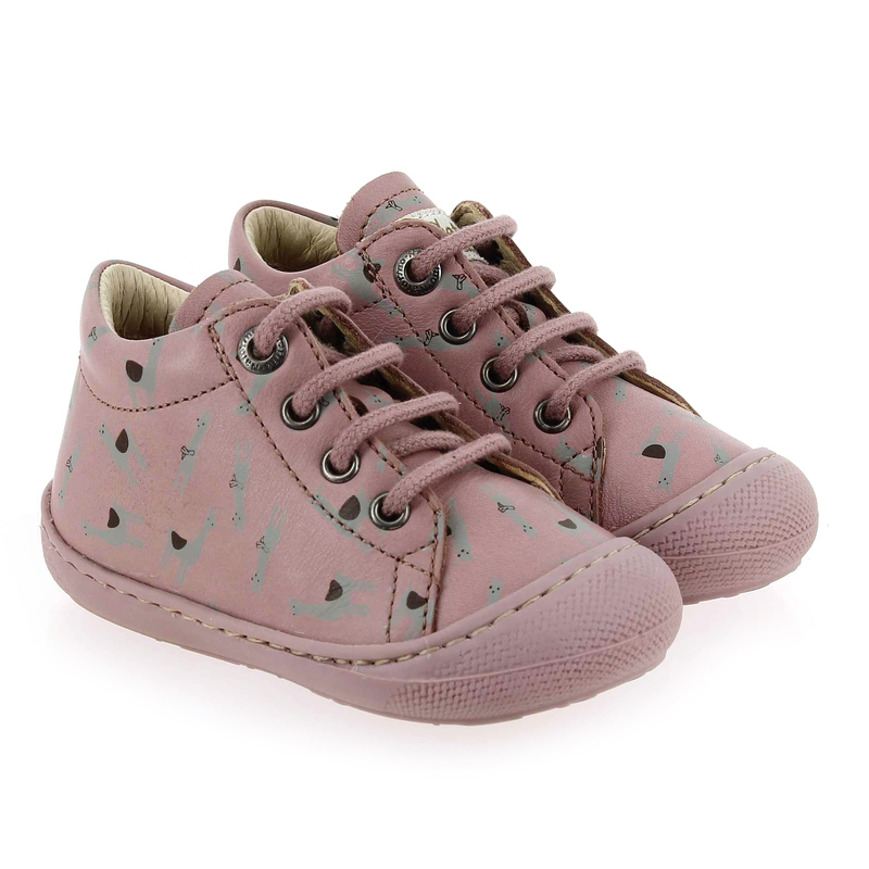 Chaussure Falcotto by Naturino COCOON rose couleur Rose Gris - vue 0