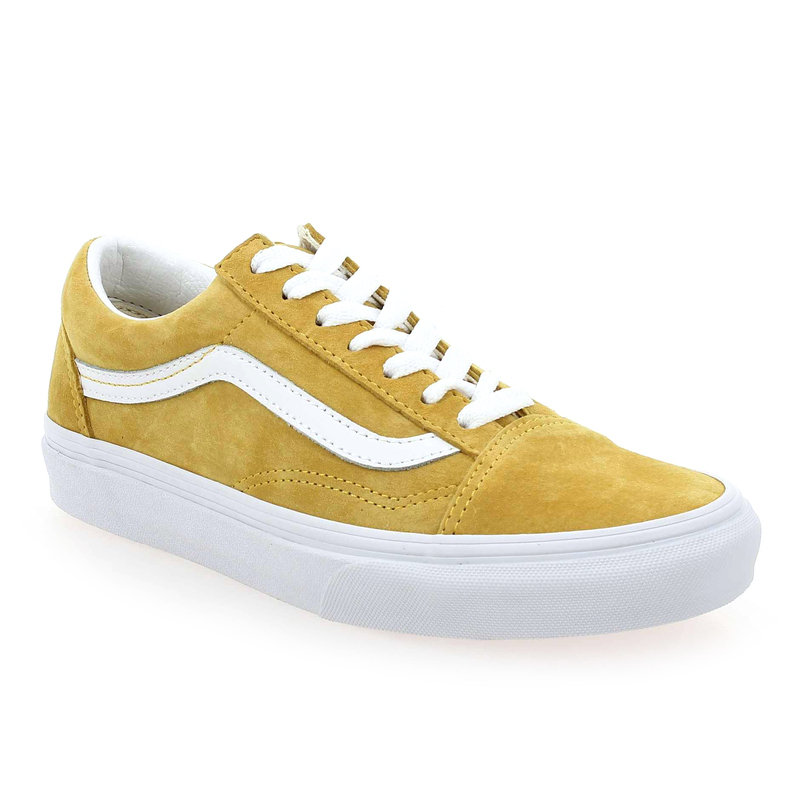 chaussure vans moutarde