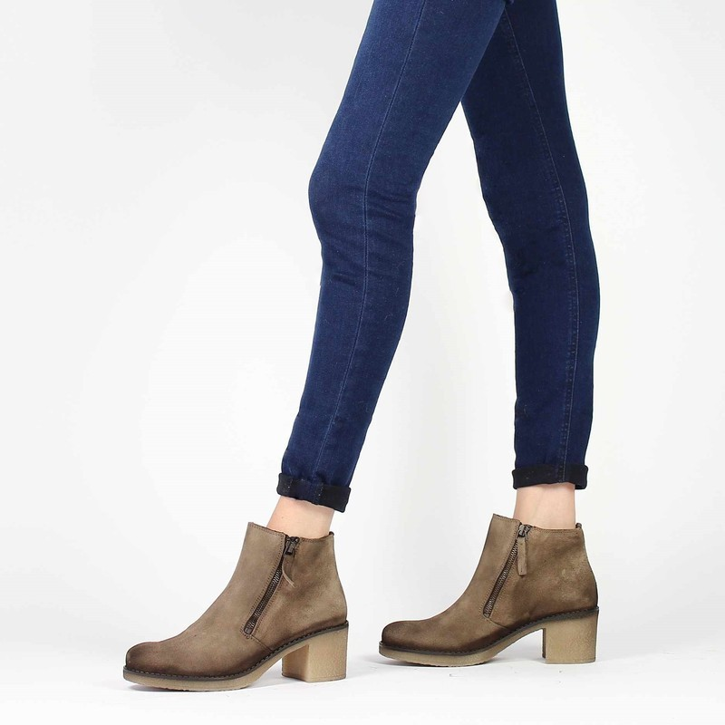 Chaussure PintoDiBlu  80960 beige couleur Taupe - vue 0