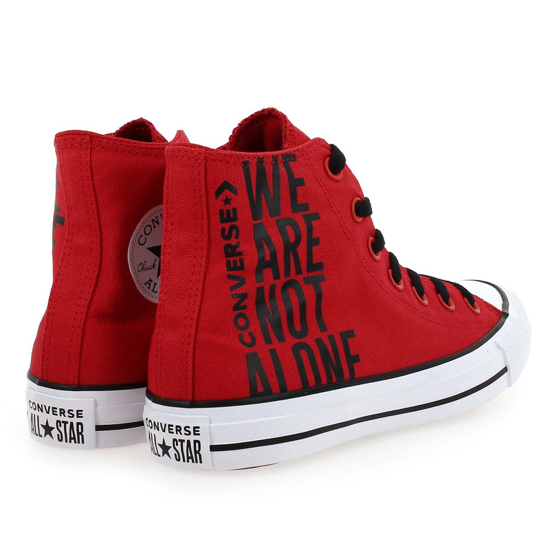 converses rouge homme