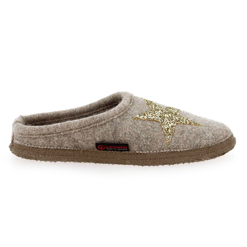 Chaussure Giesswein COBY beige couleur Beige Or - vue 1