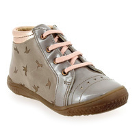 Chaussure Babybotte modèle ANVOLL, Taupe Rose - vue 0