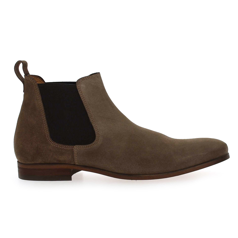 Chaussure Brett and Sons 4126 BETONE marron couleur Taupe - vue 1