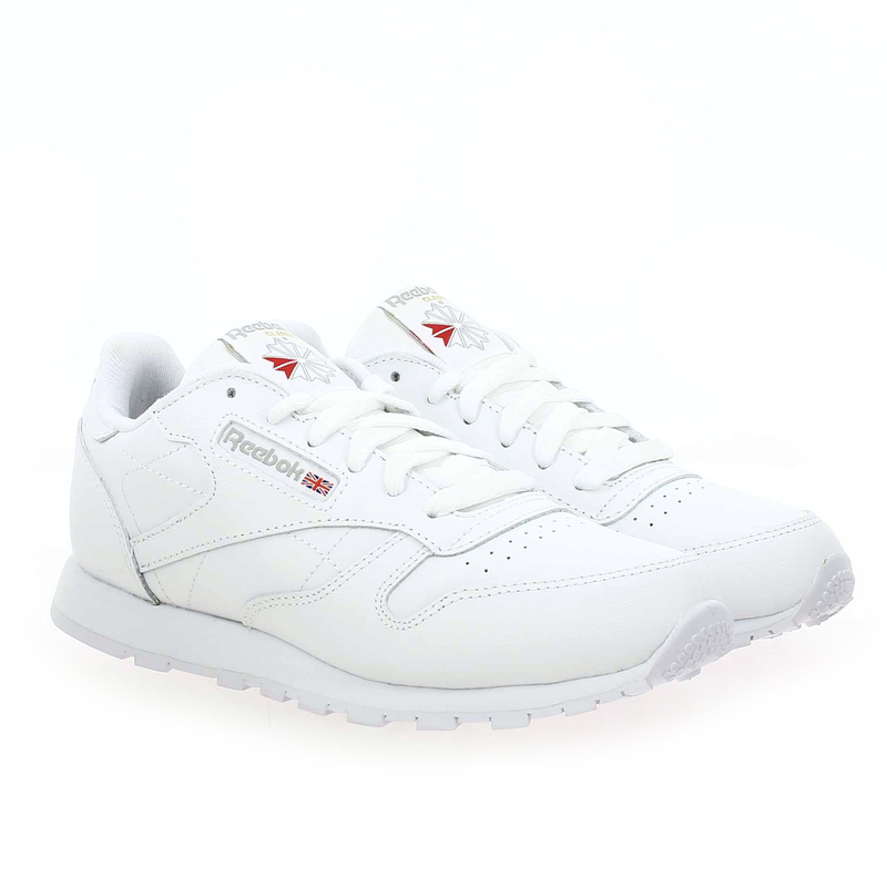 Chaussure Reebok CLASSIC LEATHER blanc couleur Blanc - vue 0