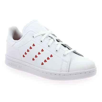 stan smith coeur rouge