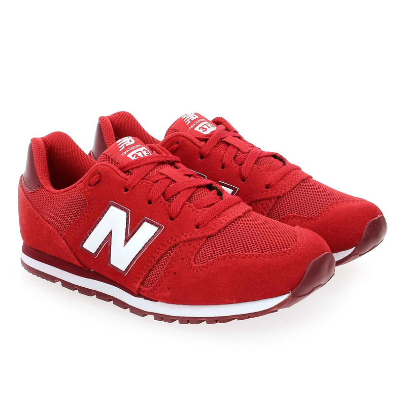 Chaussure New Balance YC373 M rouge couleur Rouge - vue 0