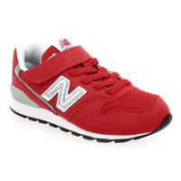 Chaussure New Balance modèle YV996 M VELCRO, Rouge - vue 0