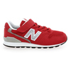 Chaussure New Balance modèle YV996 M VELCRO, Rouge - vue 1