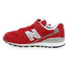 Chaussure New Balance modèle YV996 M VELCRO, Rouge - vue 2