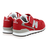 Chaussure New Balance modèle YV996 M VELCRO, Rouge - vue 3