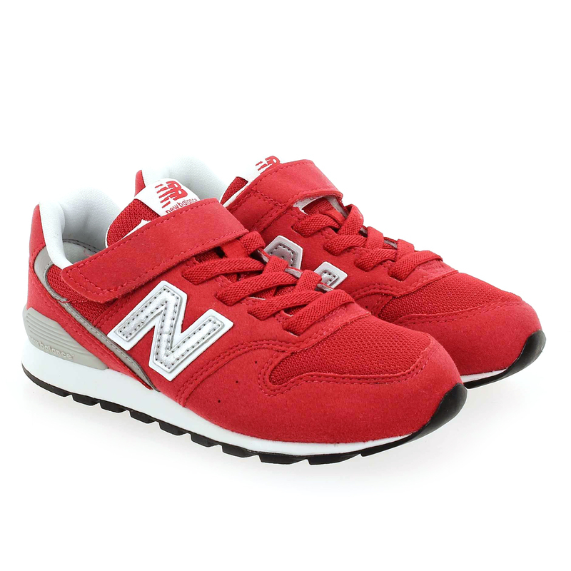 Chaussure New Balance YV996 M VELCRO rouge couleur Rouge - vue 0