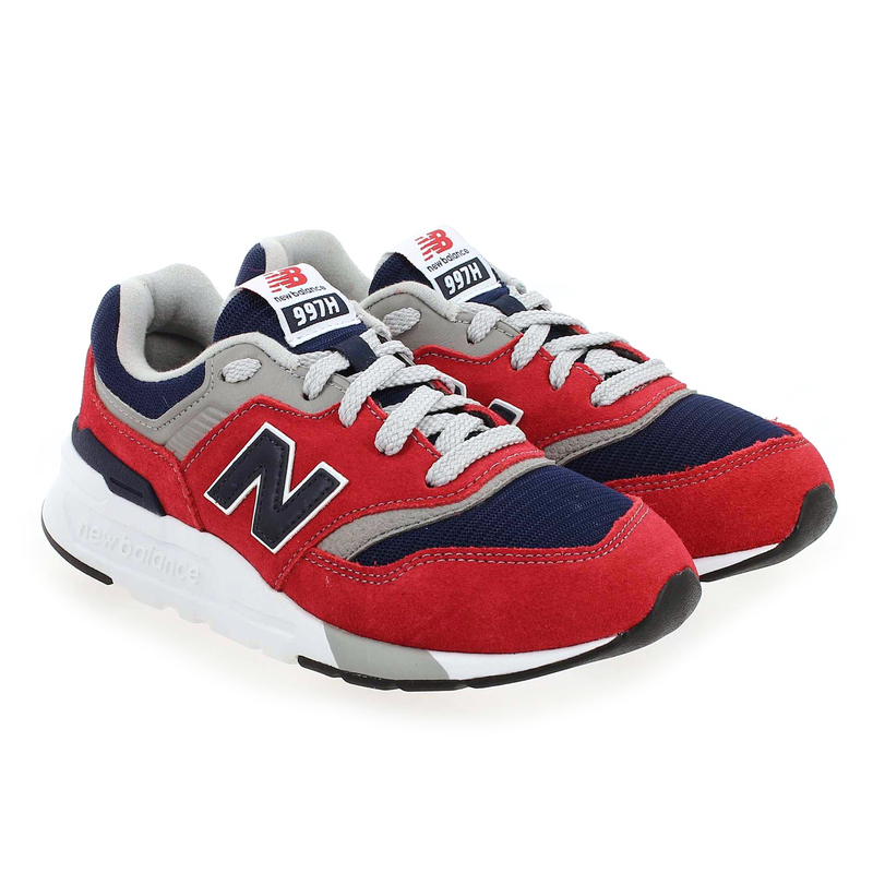 Chaussure New Balance 997 rouge couleur Rouge Marine - vue 0