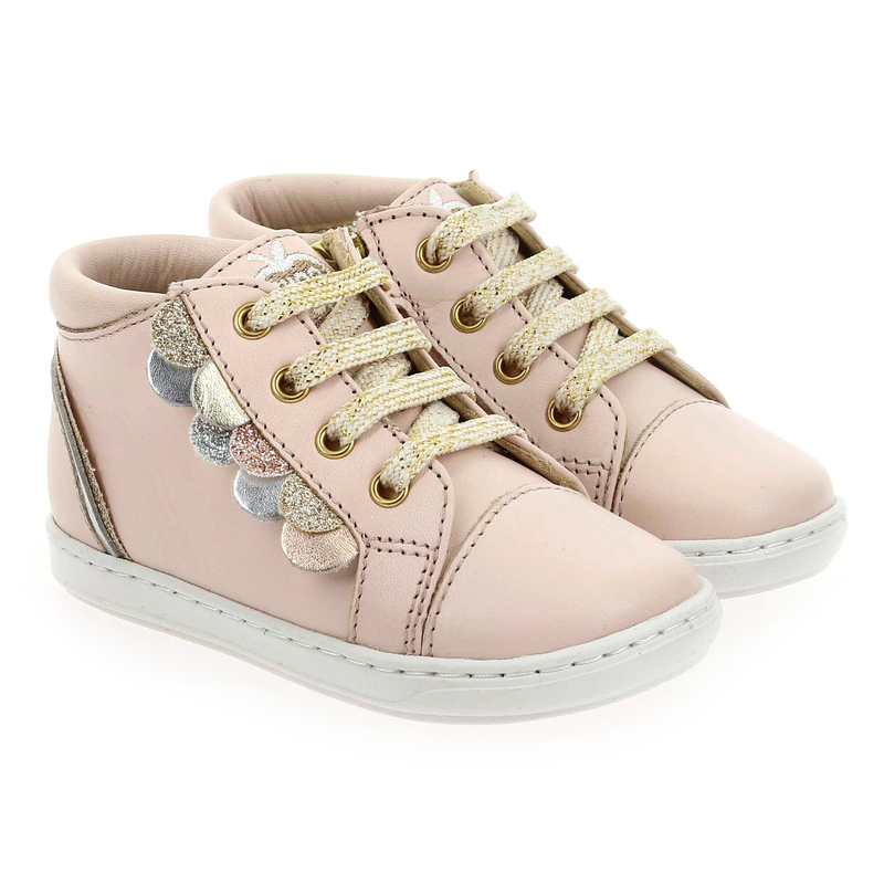 Chaussure Shoopom BOUBA SCALE rose couleur Rose Or - vue 0