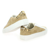 Chaussure No Name modèle ARCADE SNEAKER FOREVER SUEDE, Beige Or - vue 3