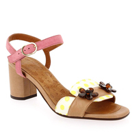 Chaussure Chie Mihara modèle LUMECO, Beige Rose - vue 0