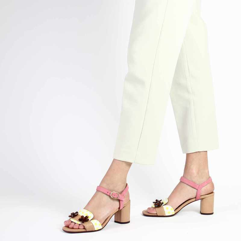 Chaussure Chie Mihara LUMECO beige couleur Beige Rose - vue 0