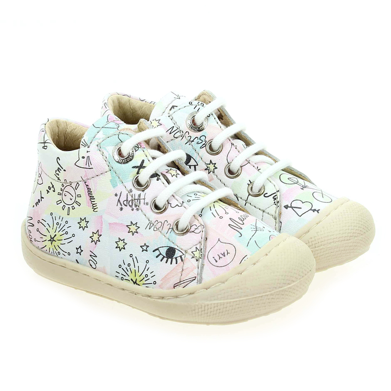 Chaussure Falcotto by Naturino COCOON ACQUACOMICS GIRL blanc couleur Blanc Multi - vue 0
