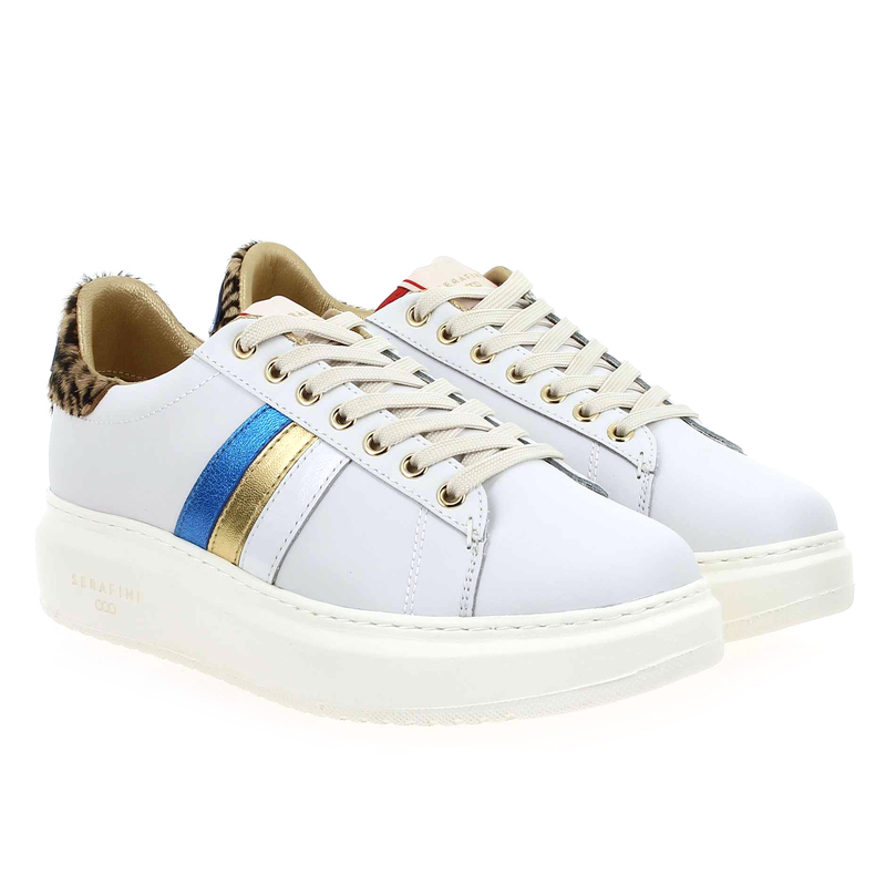 Chaussure Serafini JIMMY CONNORS blanc couleur Blanc Multi - vue 1