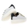 Chaussure Serafini modèle JIMMY CONNORS VELCRO, Blanc Or - vue 3