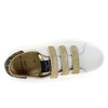 Chaussure Serafini modèle JIMMY CONNORS VELCRO, Blanc Or - vue 4