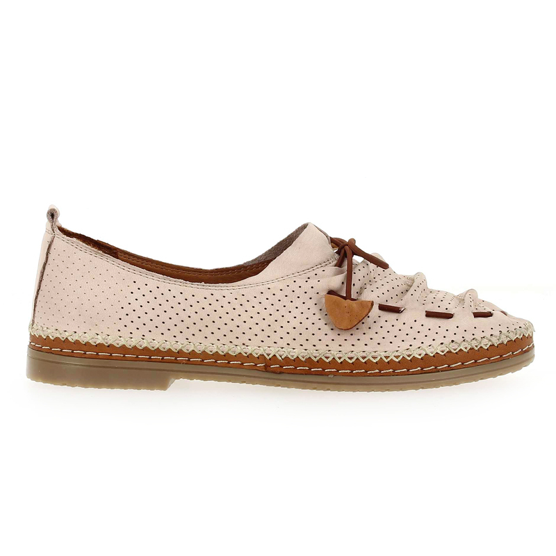 Chaussure Coco & Abricot SABELINE rose couleur Nude - vue 1