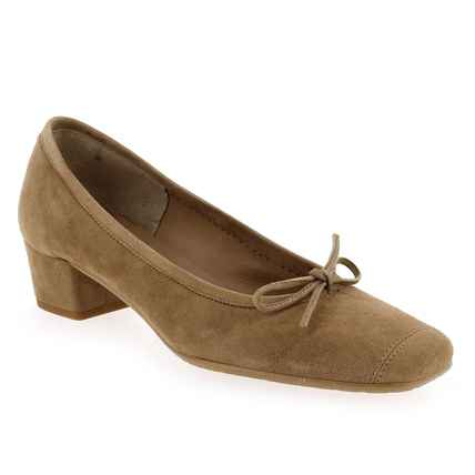 Chaussure Reqins modèle RUDY, Taupe  - vue 0