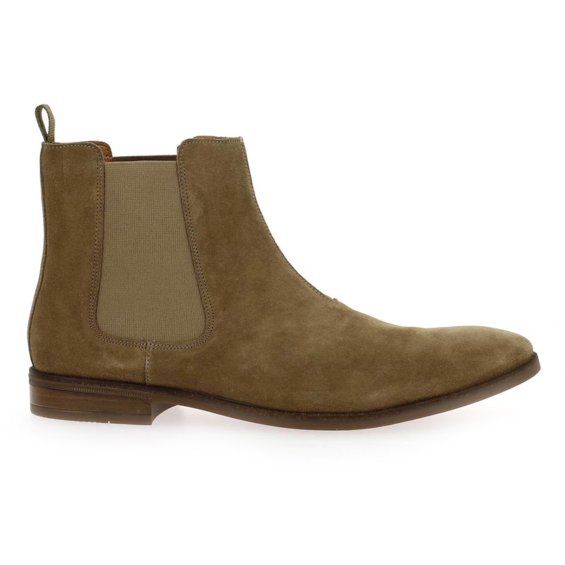Chaussure Clarks STANFORD TOP beige couleur Taupe - vue 1