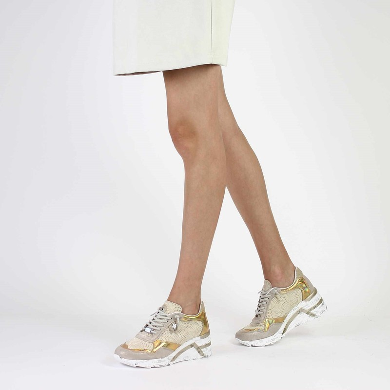 Chaussure Cetti C1143 beige couleur Nude Or - vue 0