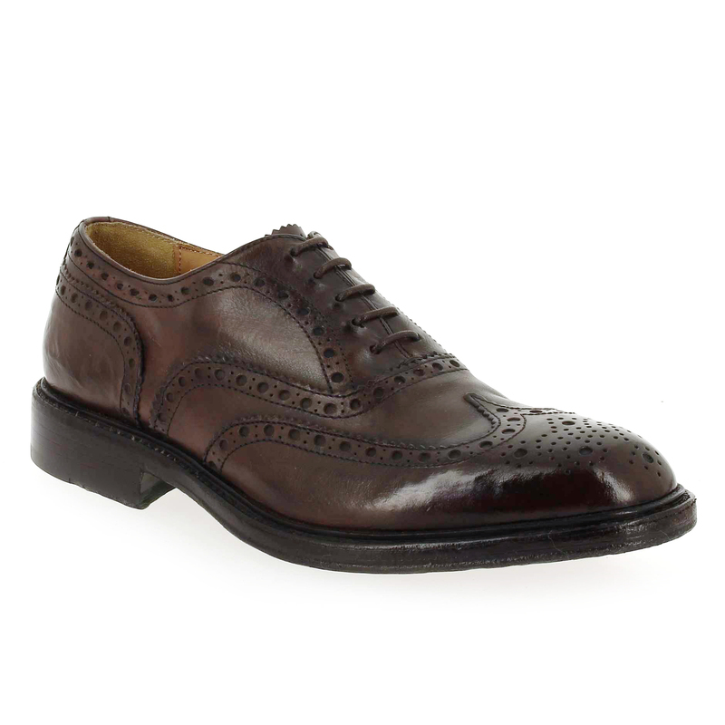 Chaussures à lacets Homme Green george 4080 marron Homme