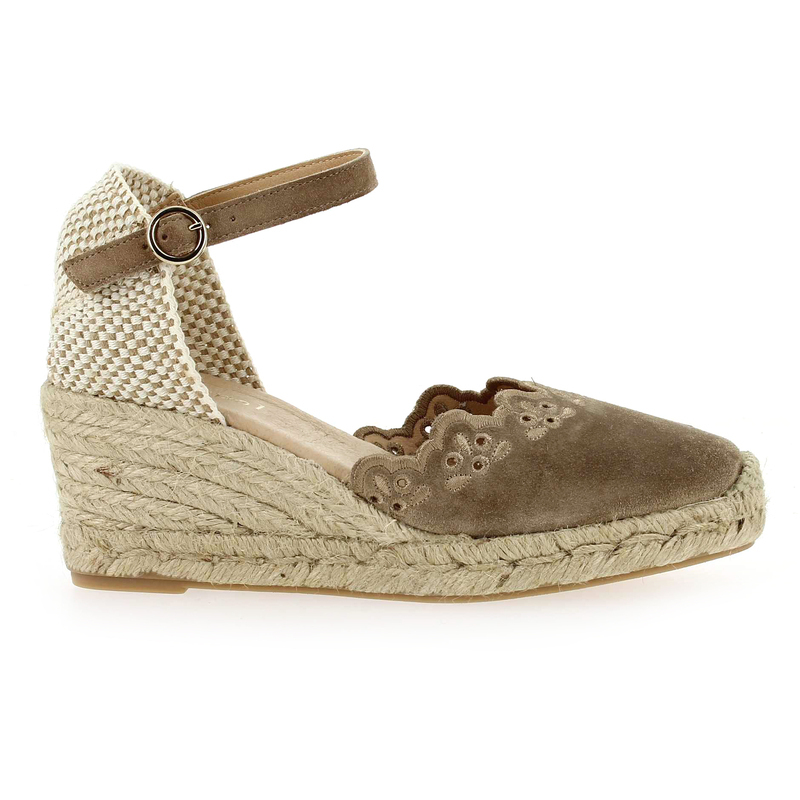 Chaussure Maypol LARCIS beige couleur Taupe - vue 1