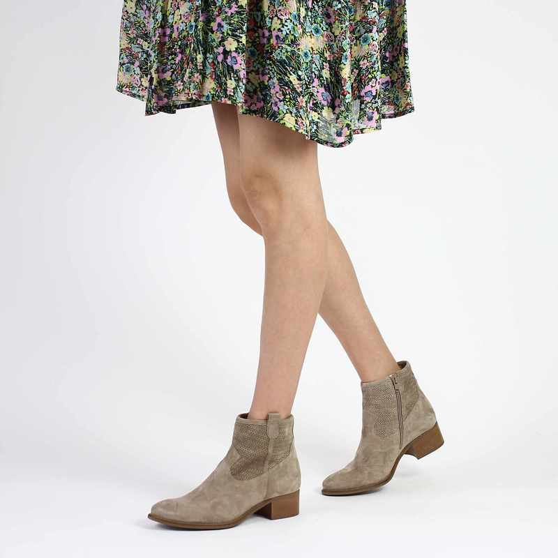 Chaussure Myma 3708 beige couleur Taupe - vue 0