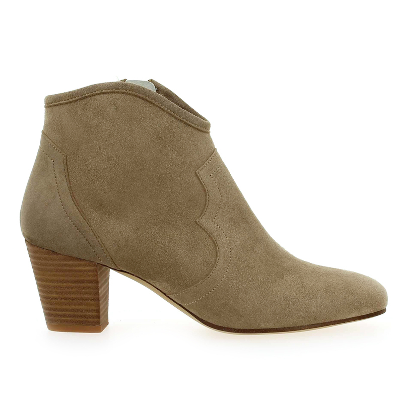 Chaussure Myma 3715 beige couleur Taupe - vue 1
