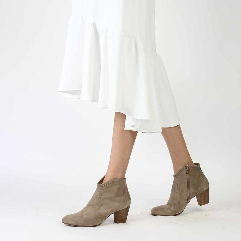 Chaussure Myma 3715 beige couleur Taupe - vue 0