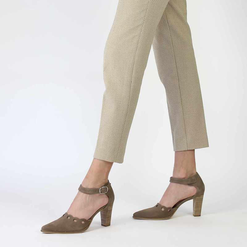 Chaussure Myma 3913 beige couleur Taupe - vue 0