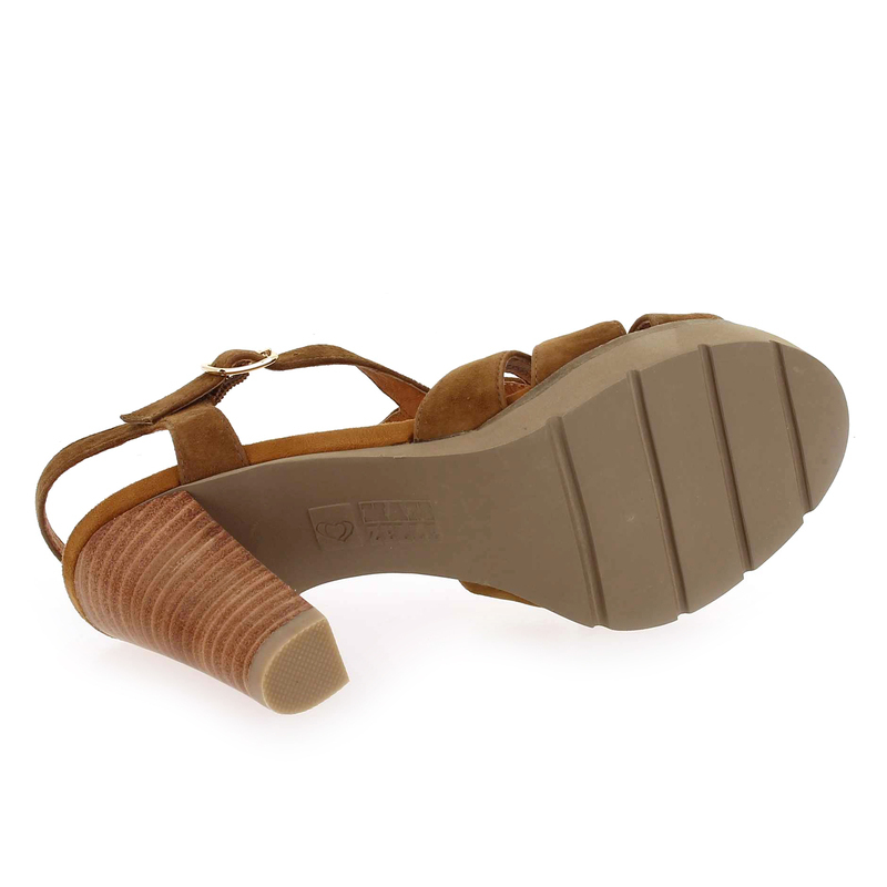 Chaussure Mamzelle TIMBA camel 6283701 pour Femme